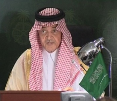 Saudi Arabia calls for action on Syria